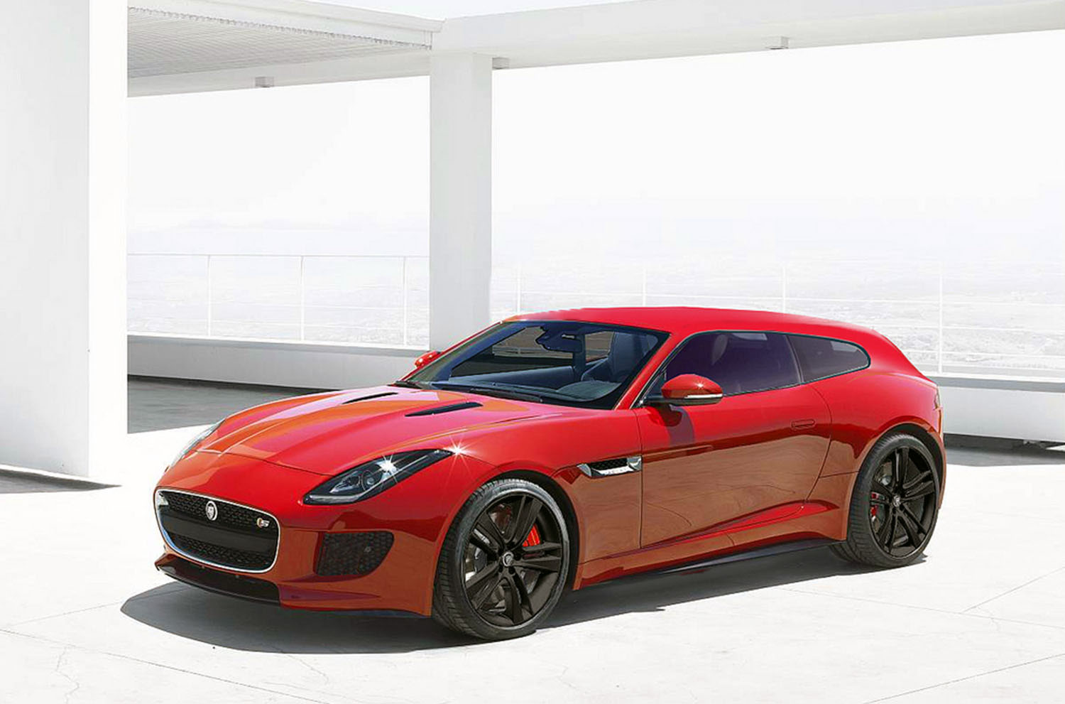 Jaguar F-Type Shooting-brake